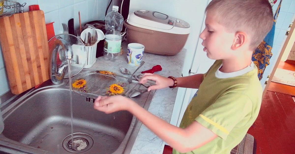 Дети, которые занимаются домашними обязанностями, обречены на успешное будущее