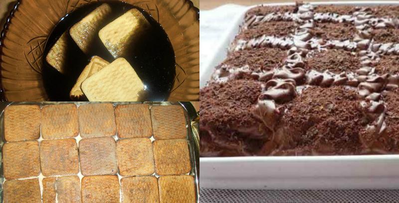 Торт шоколадно-кофейный без выпечки